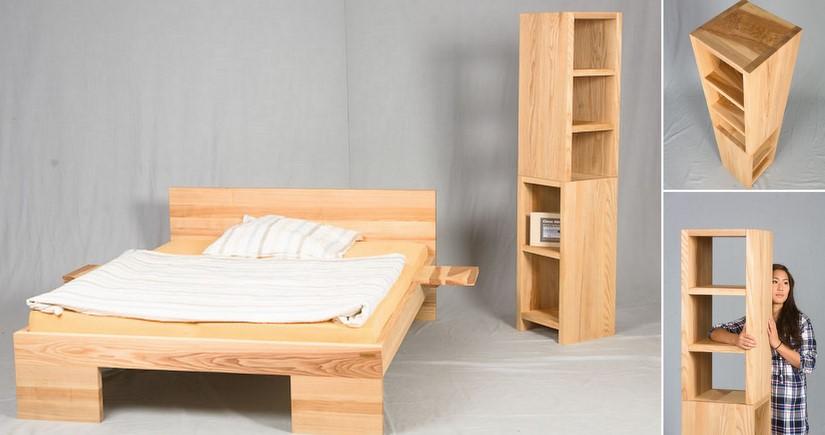 Eckregale Aus Holz Bad Küche Günstig Massivholz Regalsystem - Eckregale wohnzimmer