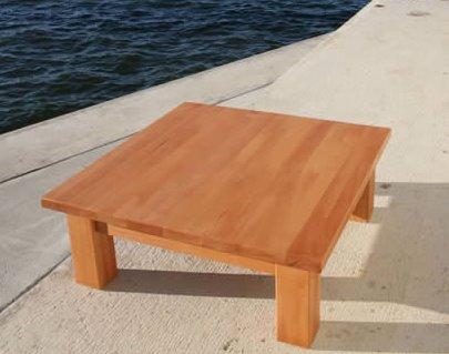 Designer Couchtische Aus Holz Massivholz Design Quadratisch