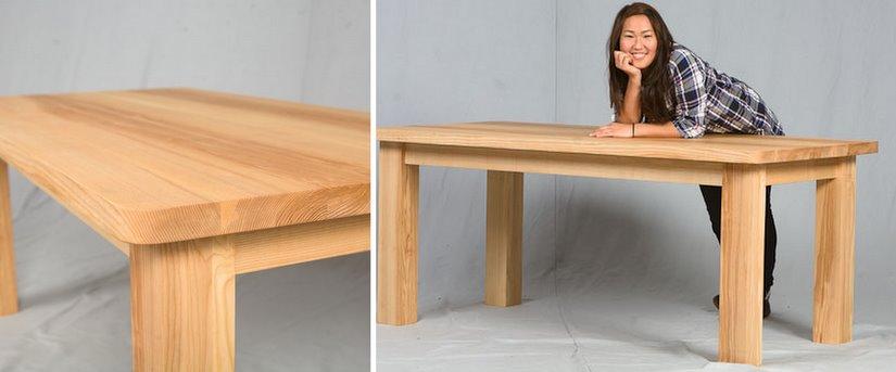 B rom bel konferenztisch design massivholz rechteckig for Konferenztisch design