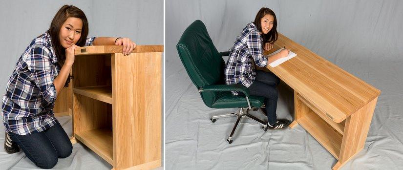 Massivholz Schreibtisch Massiv Kiefer Buche Eiche Billig Kaufen