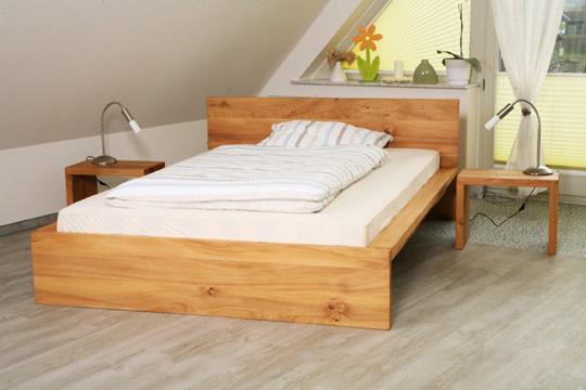 design bett massivholz. Black Bedroom Furniture Sets. Home Design Ideas