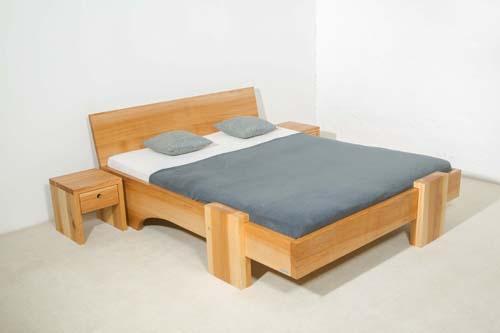 Massivholzbetten Bett Holz Massivholz Günstig Nach Maß Betten