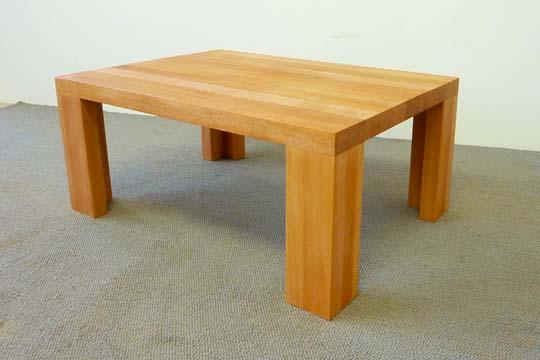 Massivholztisch tisch massivholz holz buche ulme eiche for Design massivholztisch