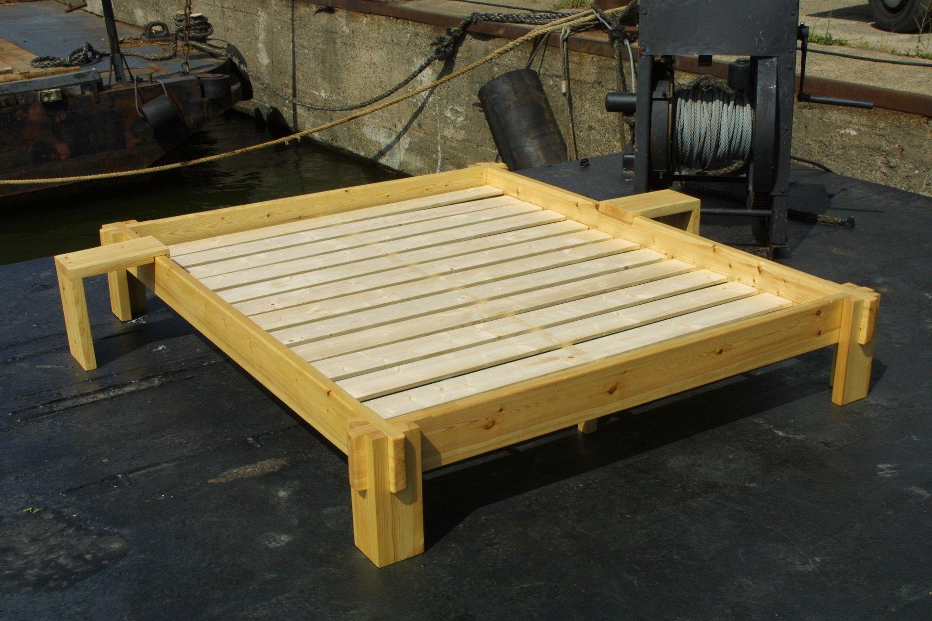 futonbett 120 200 mit lattenrost und matratze bilder das. Black Bedroom Furniture Sets. Home Design Ideas