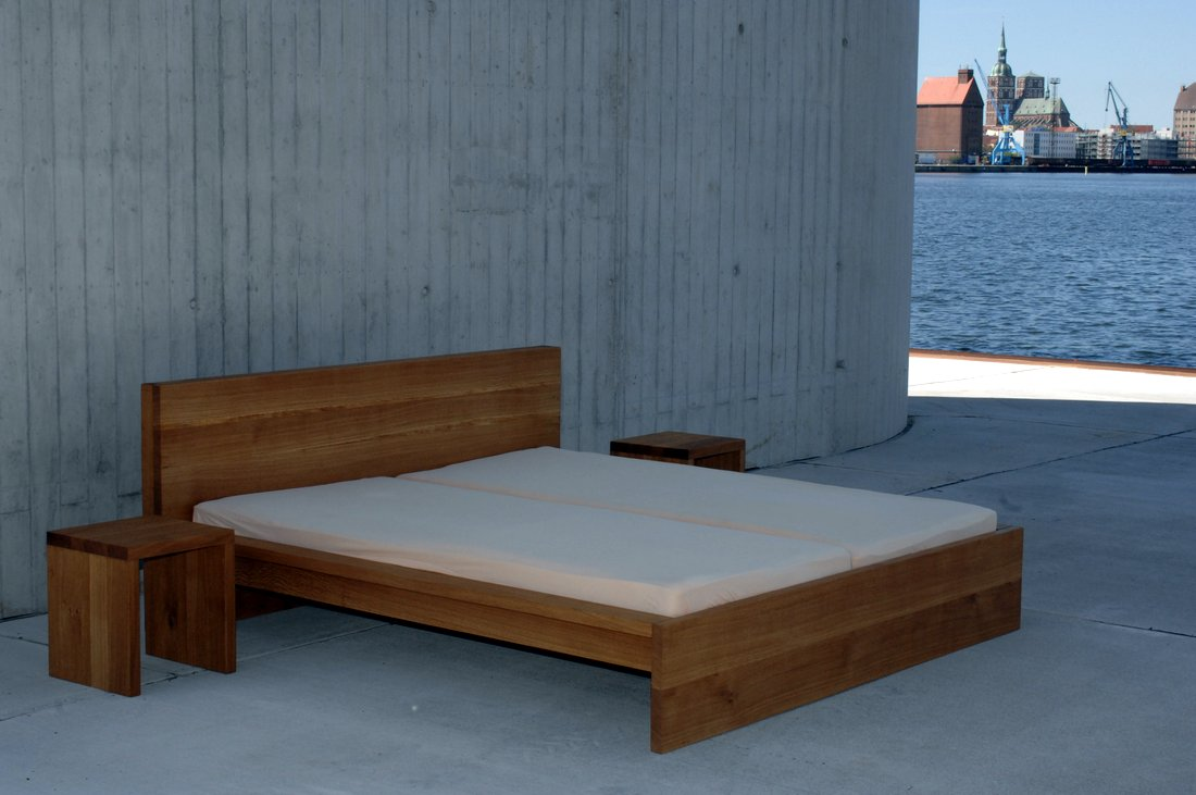 Massivholzbetten Design