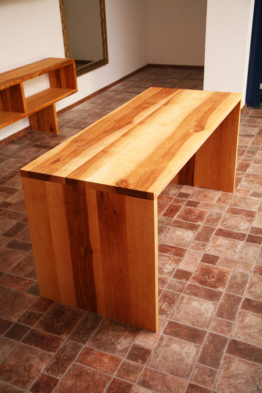 Der massivholztisch usedom aus erle - Cocobolo tisch ...