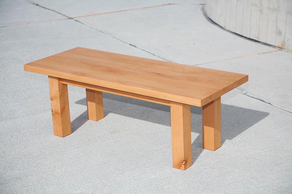 der massivholztisch d nholm mit b nken aus massivholz. Black Bedroom Furniture Sets. Home Design Ideas